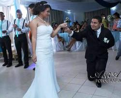 Vestido de novia straple