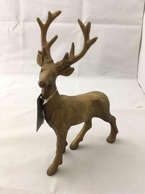 Bronze stag ornament