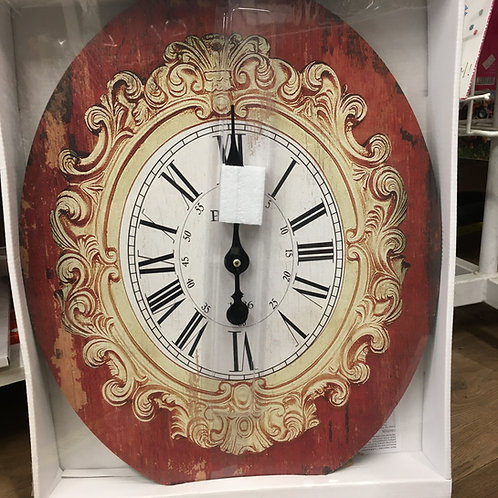 Read antique style clock