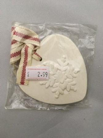 Ceramic white tree decoration
