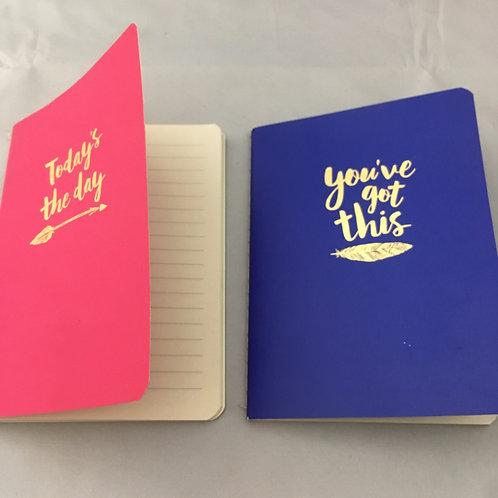 Mini note books (pack of 2)