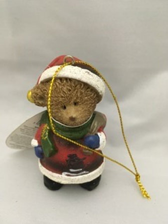 Christmas Bear tree ornament