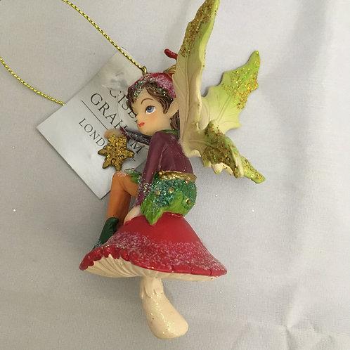 Pixie tree ornament