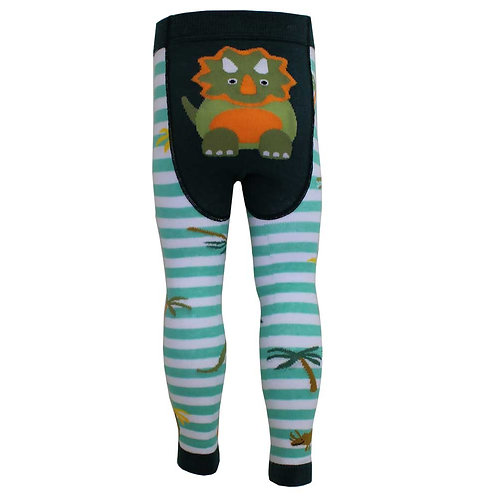 Dinosaur motif leggings