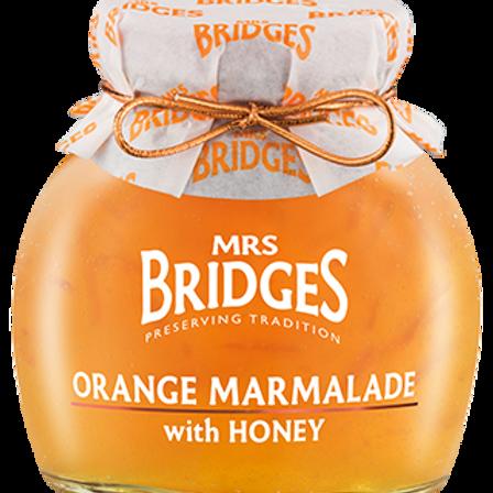 Mrs. Bridges 340g Marmalade & Honey