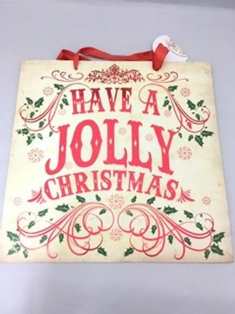 Have a Jolly Christmas gift bags