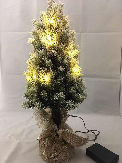 Light up mini Christmas tree