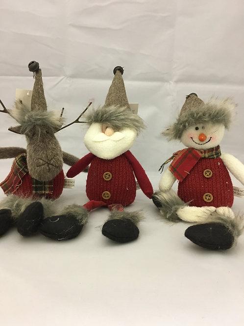 Decorative Santa/Reindeer/Snowman