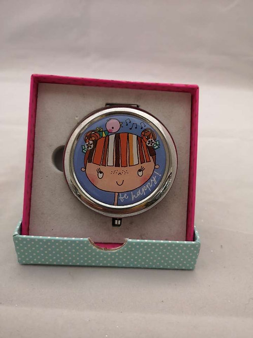 Be happy compact mirror