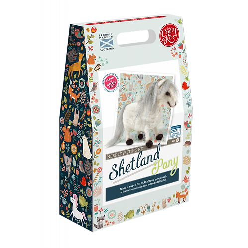 Shetland Pony Needle Felt Kit