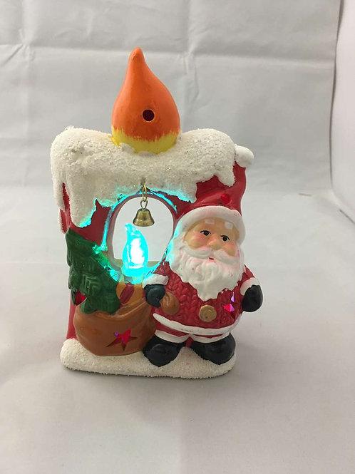 LED Santa candle design