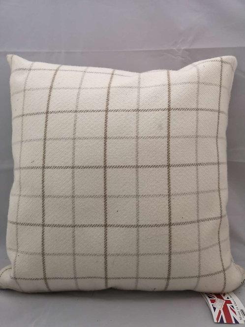 Natural bamburgh cushion