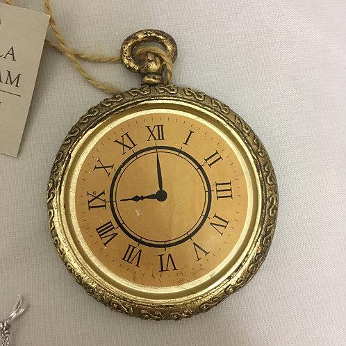 Clock tree ornament