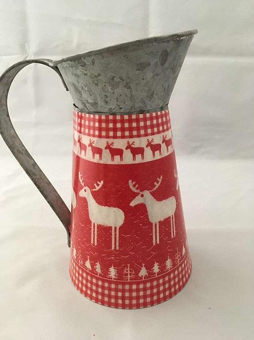 Christmas reindeer jug