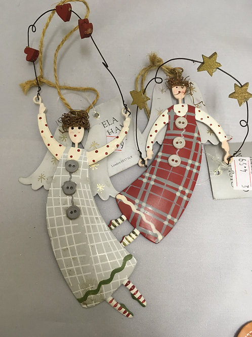 Hanging angel tree ornament