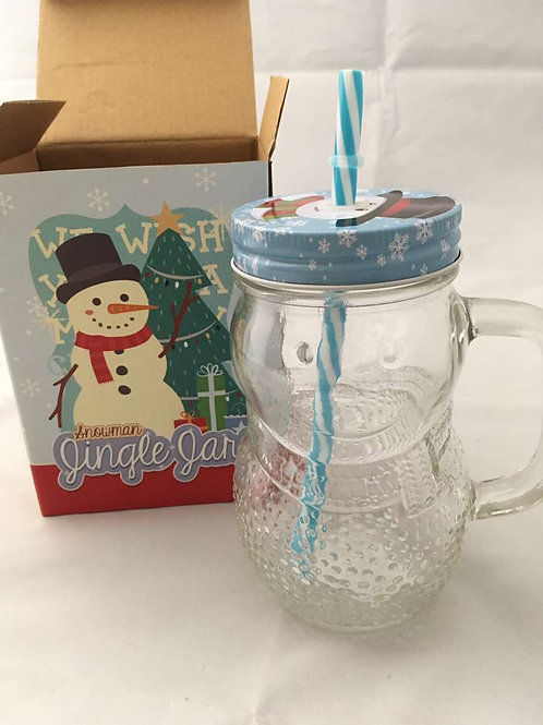 Snowman Jingle Jars