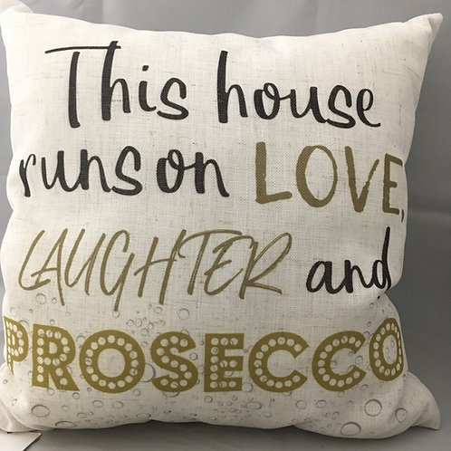 Prosecco pillow