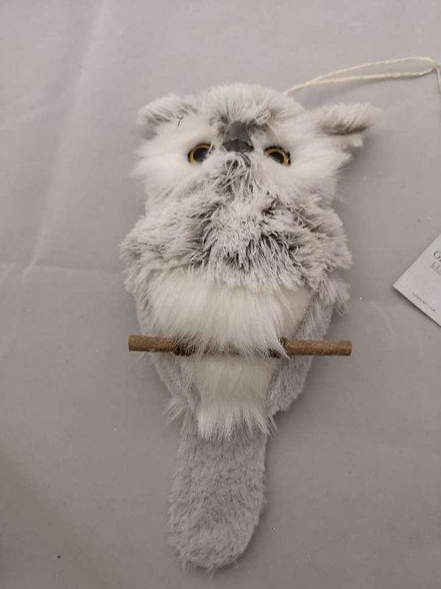 Hang up fluffy owl