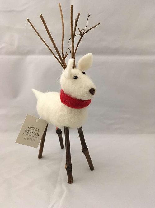 Felt reindeers