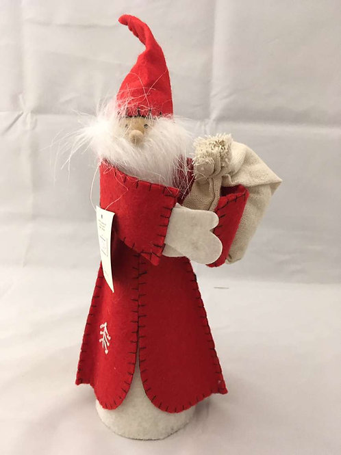 Felt Santas and Angels Ornaments/ Tree toppers