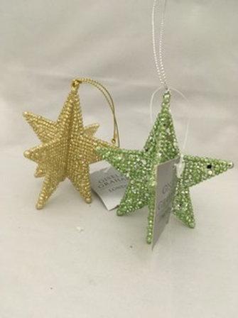 3D star Tree ornament