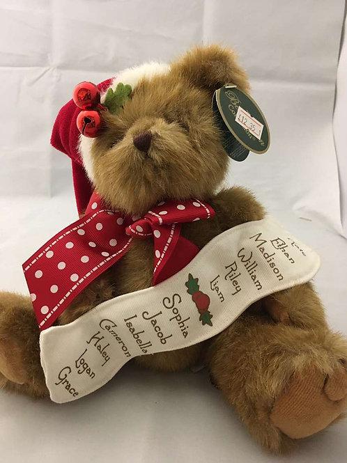 Nice list teddy bear
