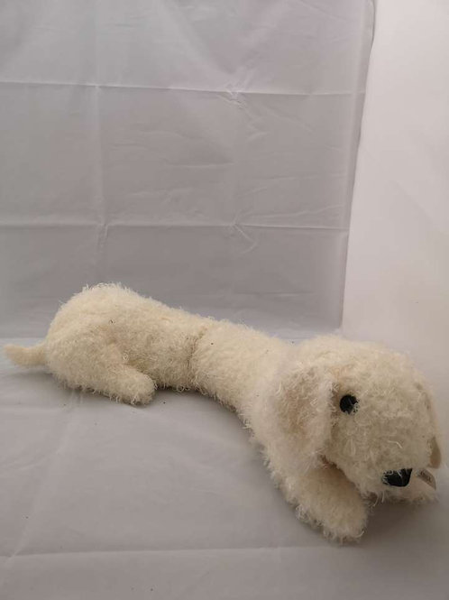 Long dog draught excluder