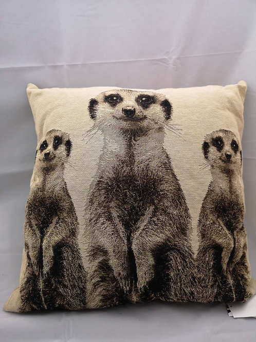 Meerkats cushion