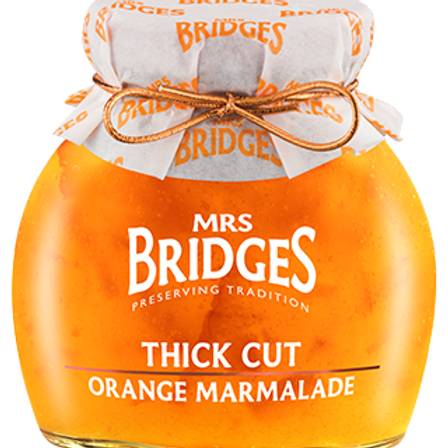 Mrs. Bridges Thick Cut Marmalade 340g