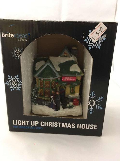 Light up Christmas house