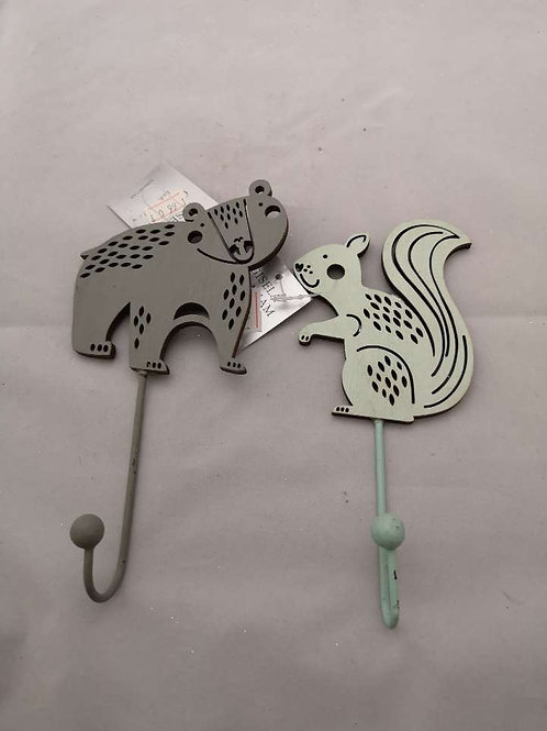 Badger and squirrel hangers