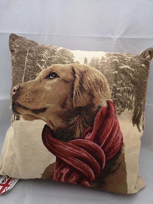 Forest dogs cushion