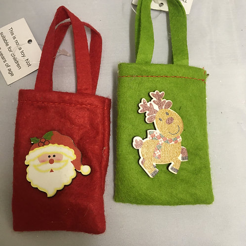 XS felt bags