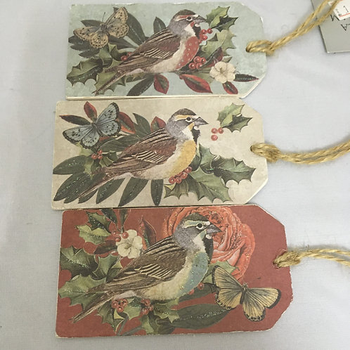 To and from wooden gift tags