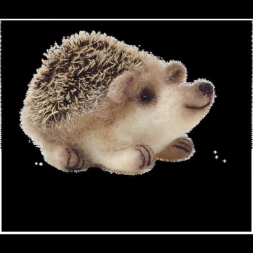 Baby Hedgehog Needle Felt Kit