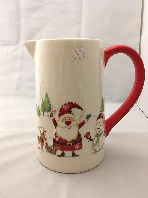 Christmas jug