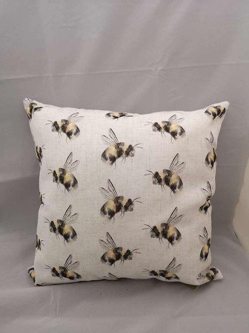 Bee repeat cushion