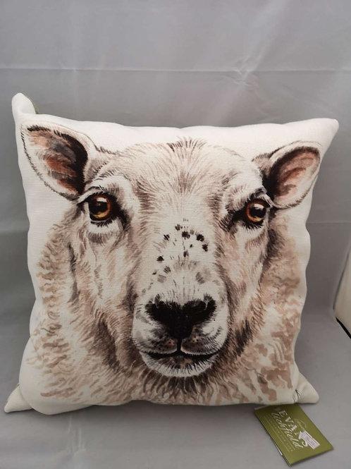 Boston WD sheep cushion