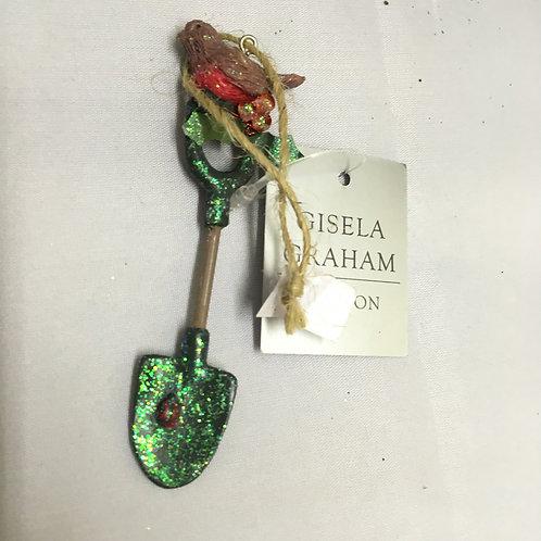 Spade tree ornament