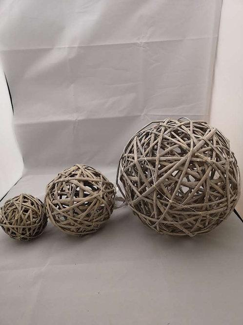 Light up twig balls