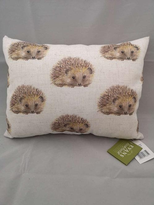 Wrap hedgehog repeat cushion