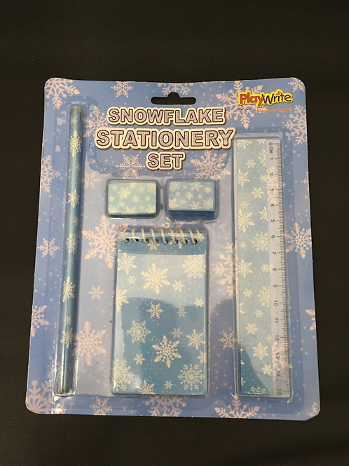 Snowflake Stationary set