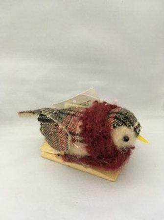 Bird on peg