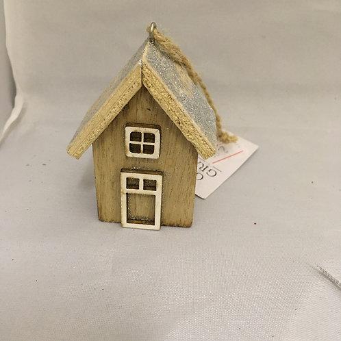 Mini house tree decoration