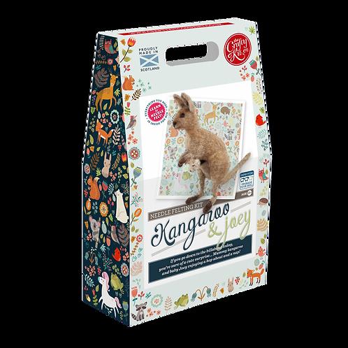 Kangaroo & Joey Needle Felting Kit