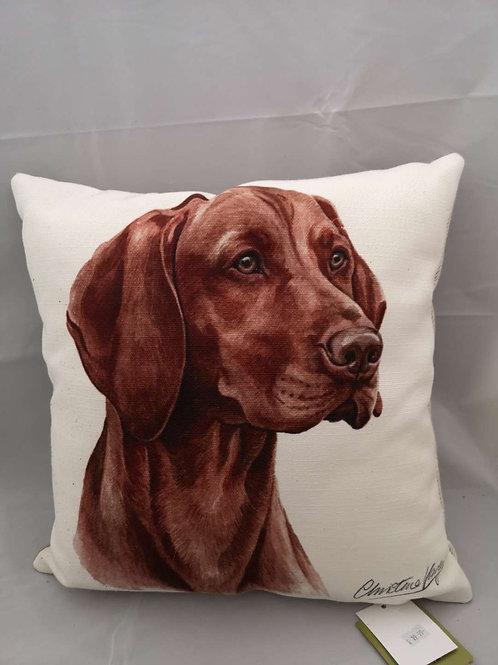 Boston WD Vizsla  cushion