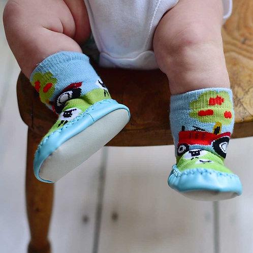 Farmyard Moccasin Slippers