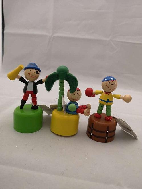 Wobbly pirates