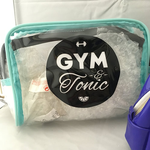 Gym and tonic wash bag