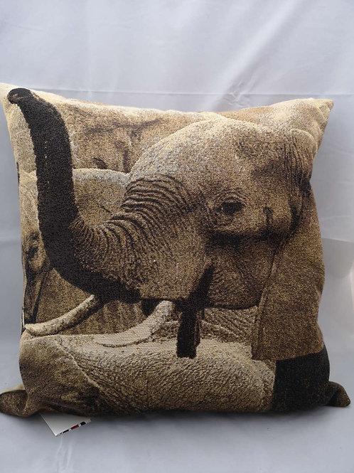 Elephant Africa cushion